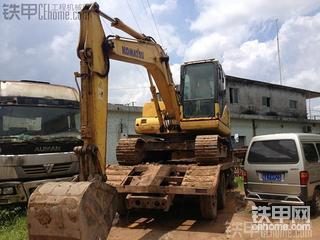 海南小松PC110-7挖掘机6000小时使用报告
