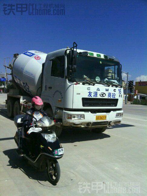 華菱星馬混凝土罐之中联重科泵车