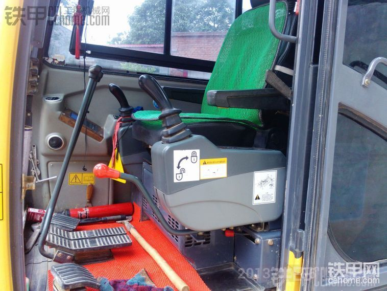 玉柴YC60-8挖掘机2400小时保养及使用报告-帖子图片