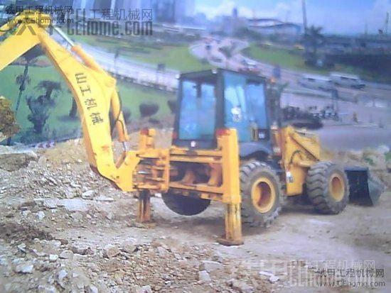 两头忙 山工出售-25挖掘装载机出售