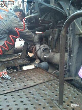 本月最后一贴,维修【欧曼ETX6系涡轮增压器】。。。