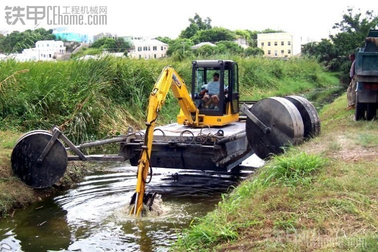 挖掘机河道作业之必备神器