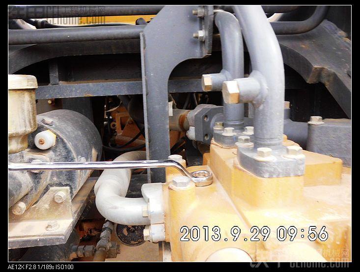 多图详解50装载机液压系统压力调整图片