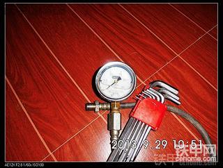 多图详解50装载机液压系统压力调整