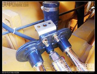 加装气喇叭和柴油箱连通器制作(检查油位)