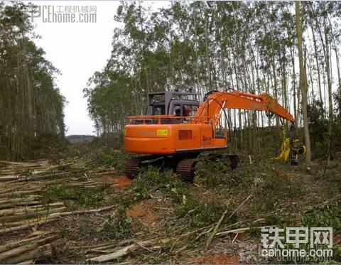 賣四臺伐木機