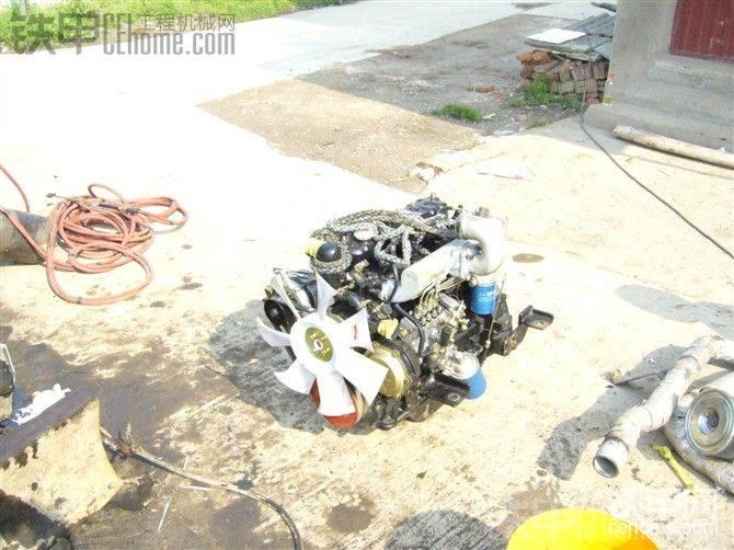 玉柴35机进口发动机更改国产发动机-帖子图片