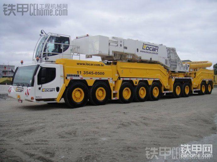 利勃海爾LTM1750-9.1(750噸起重機)-帖子圖片