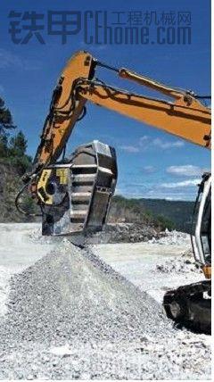 挖掘机破碎铲斗