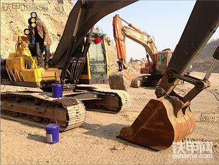 谁在石料厂装车一起聊聊,另付volvo210blc用车实况