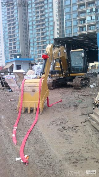 三天给钱提车 卡特彼勒312D2GC挖掘机100小时使用报告