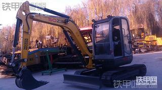论坛里的第一台5吨威克诺森无尾小挖机,多图,速度围观!
