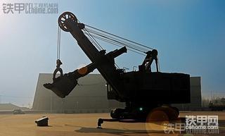 极为少见16立电铲 俄罗斯/前苏联的EKG-15电铲