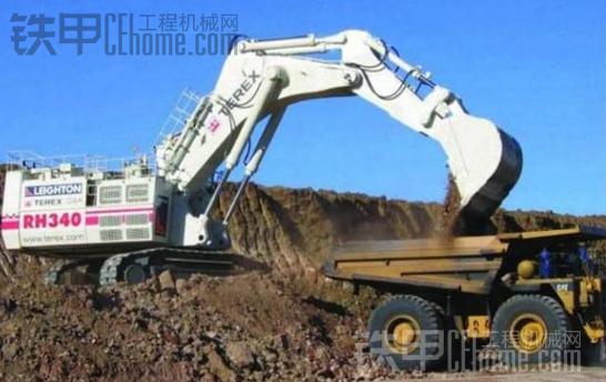 世界现役十大液压挖掘机(500吨以上)震撼盘点