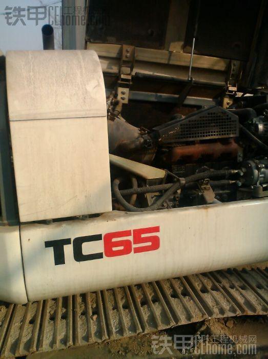 新入手特雷克斯TC65挖掘机小挖样机