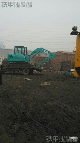 神钢SK60-8挖掘机试驾感受