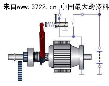 起动机控制装置电路图