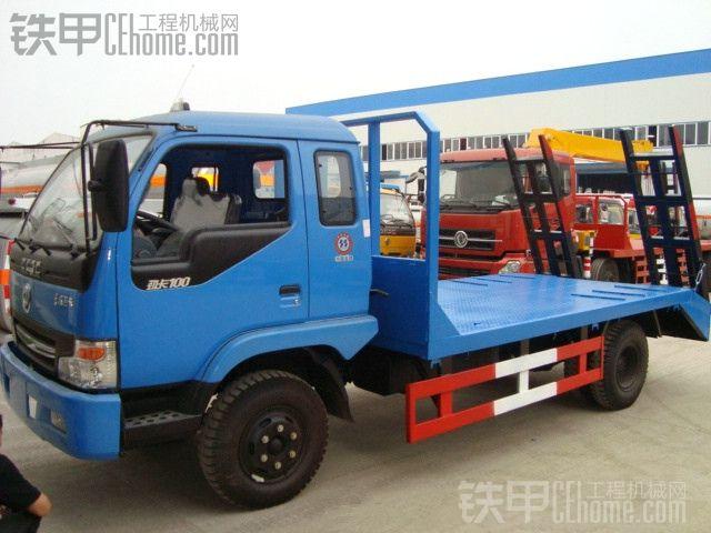 东风劲卡平板运输车工厂图片一览,详细参数讲解