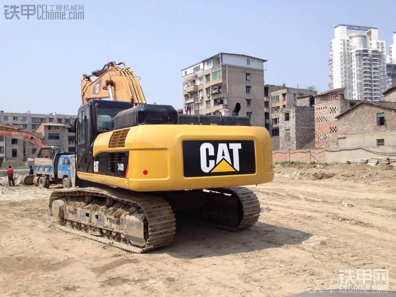 卡特340D挖掘機 洗洗更健康!-帖子圖片