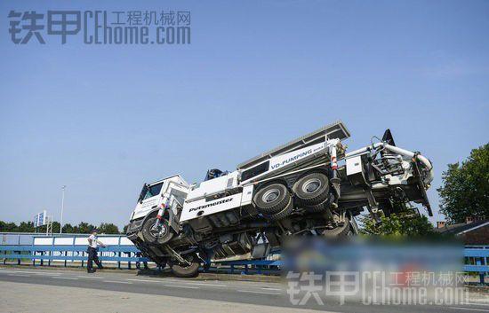 外国泵车事故