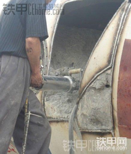 搅拌车里的混泥土怎么拆除-帖子图片