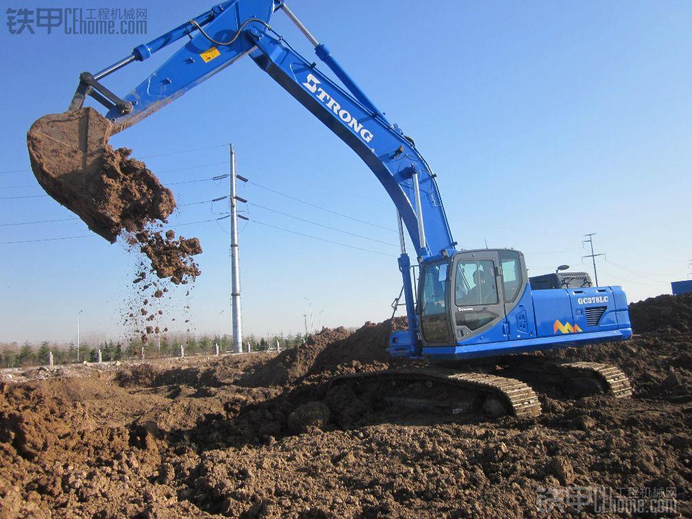 山重建机的各种挖机strong和jcm