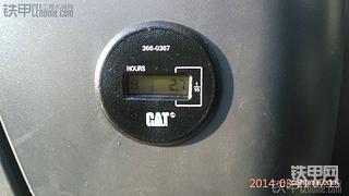 卡特320D2GC 24.6小时使用报告