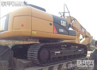 卡特彼勒320D2GC挖掘机100小时油耗和工作状态简述