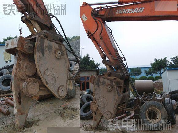 9成新重庆高频破碎锤-二手上鸣sv50型高频炮出售另有现代130,斗山300出