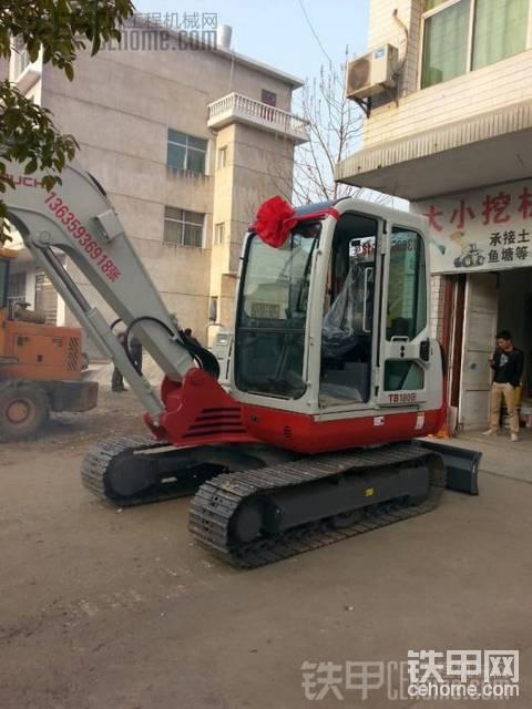 【提车作业】新入手的竹内TB160C 挖掘机