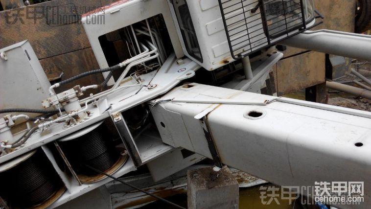 中聯重科QY25 起重機 倒了-帖子圖片