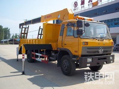 2014新款带液压爬梯,手动伸缩的挖掘机拖车 挖机平板车系列闪亮登场图片