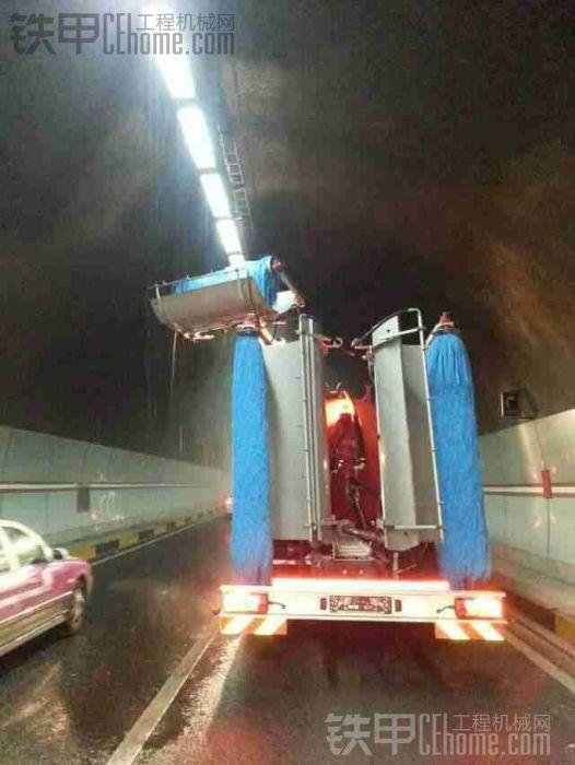 进口隧道清洗车