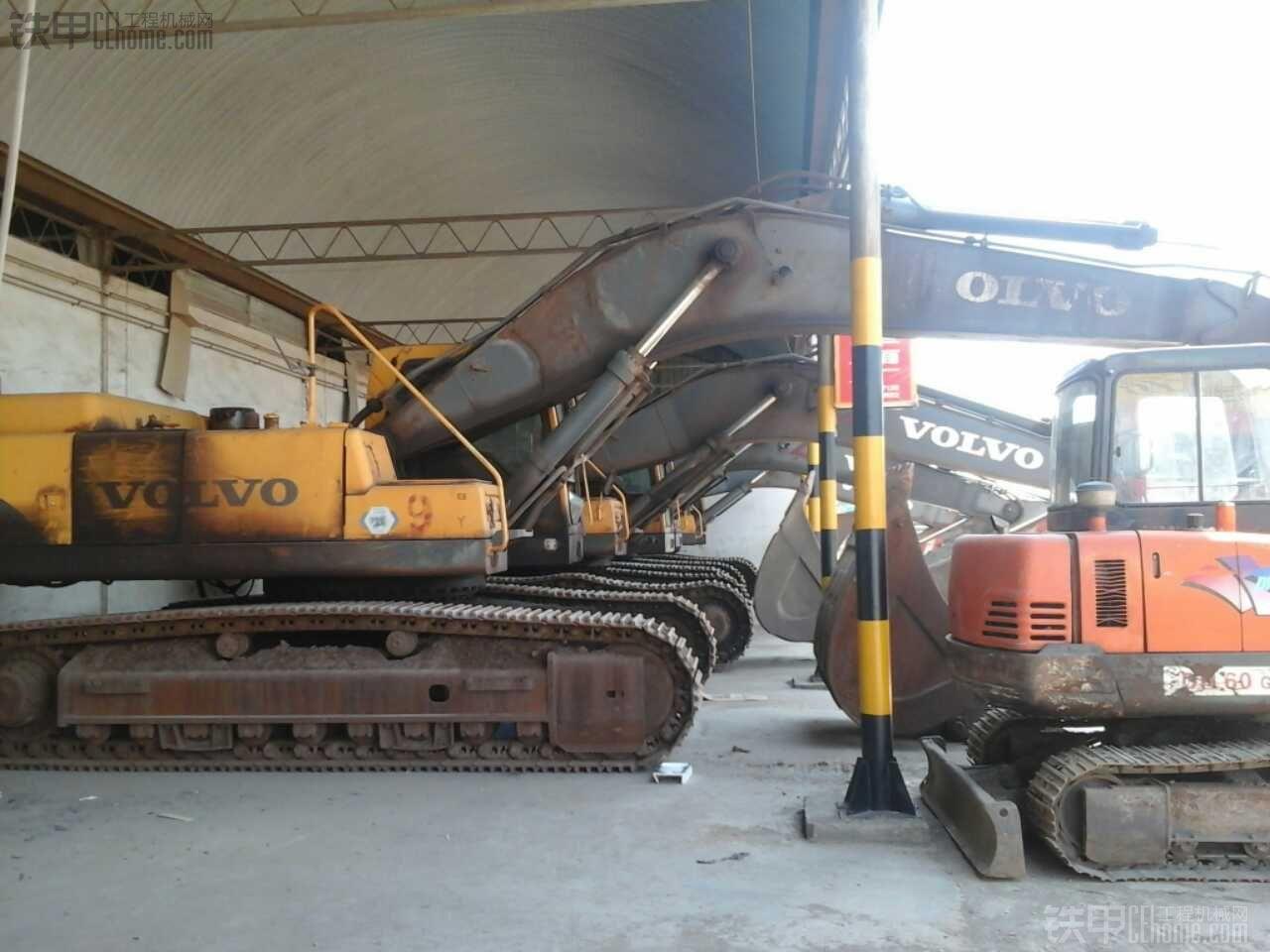 VOLVO EC460BLC 挖掘机 8000小时 70万