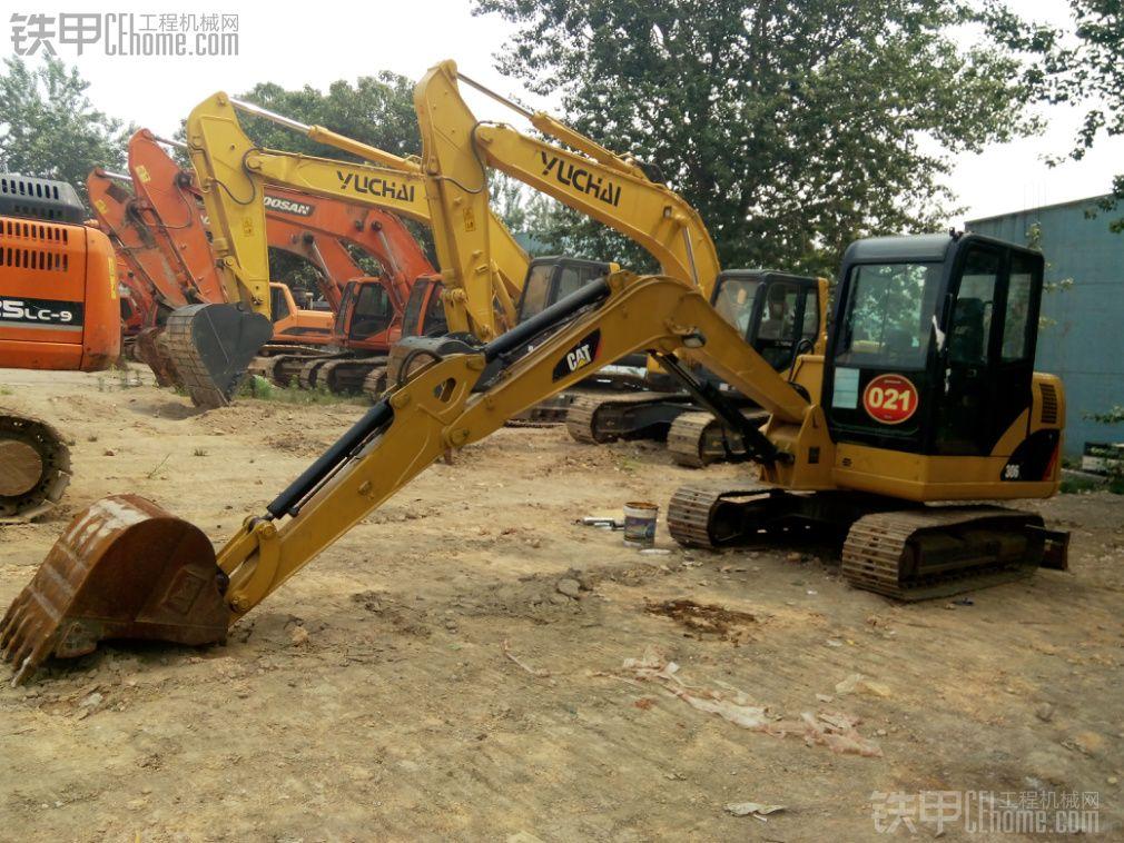 卡特306 挖掘机 1900小时
