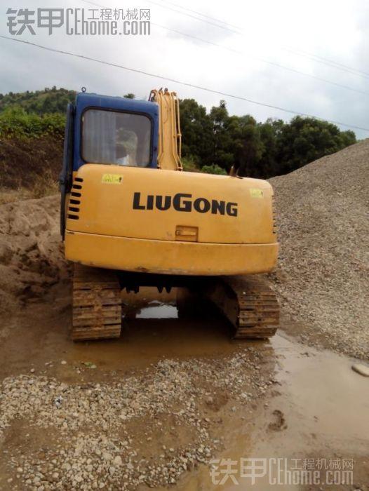 柳工907c挖掘机 5000小时使用报告