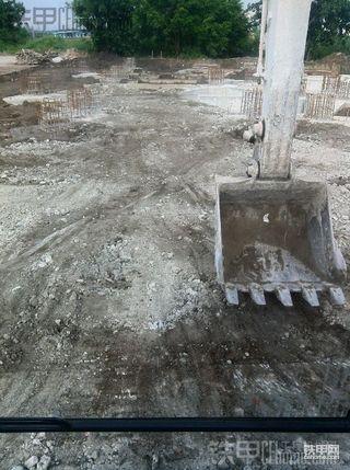 【施工作业】斗山DX150LC蛛蜘网地梁两次回填