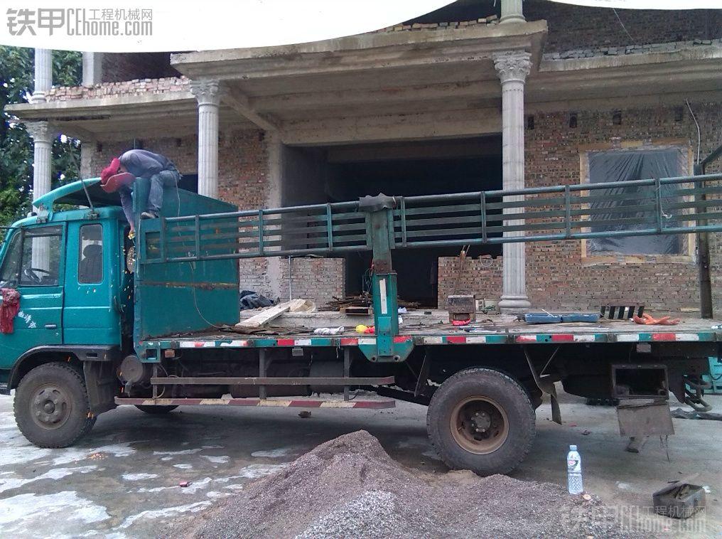 我的小挖拖车改装完成
