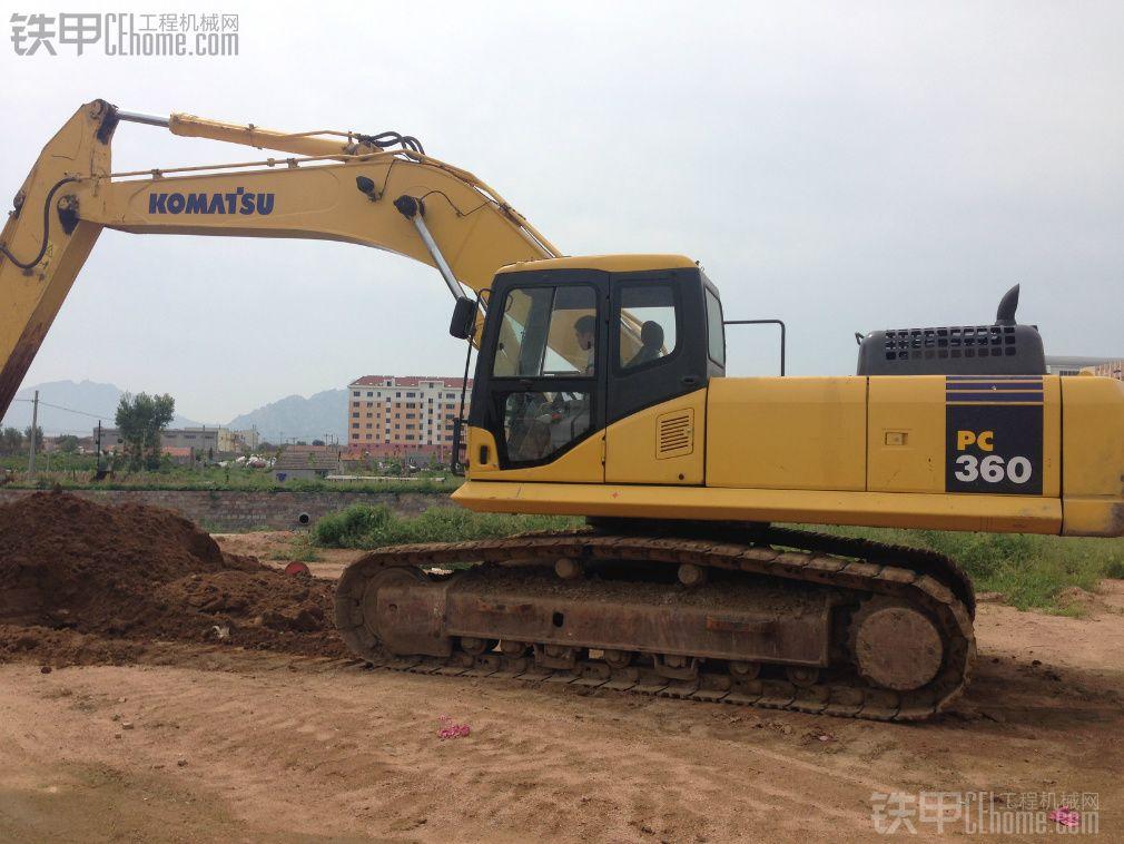 小松pc360-7 挖掘机 6500小时 65万