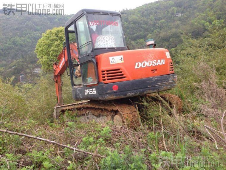斗山 DH55-v 挖掘机 11.5万 出售