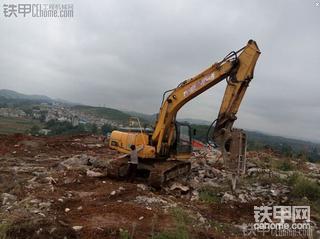 国产的力量★柳工920D挖掘机{4年零7个月7536小时}使用报告