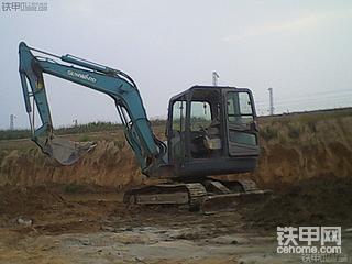 迟来的提车报告,山河智能60E挖掘机