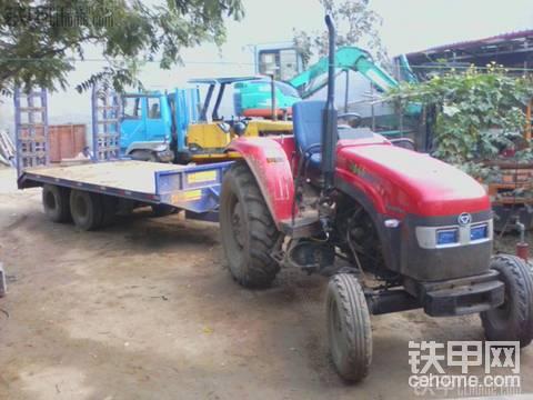 東方紅拖拉機板車