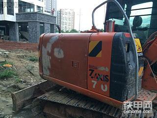 日立ZX60挖机6500小时使用报告!
