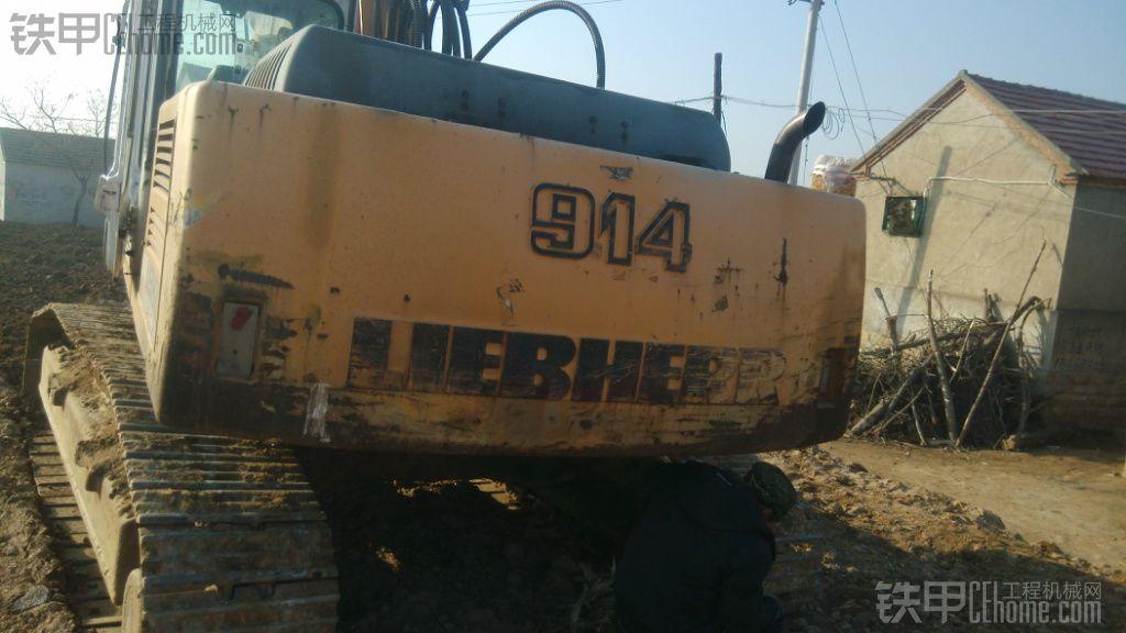 挖掘机之父,出售利勃海尔914