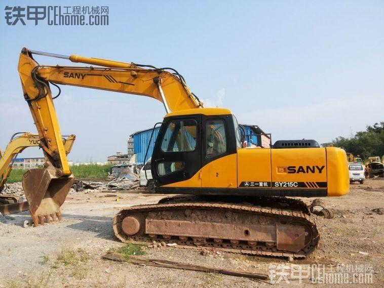 广西出售三一 215挖掘机图片