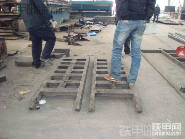 解放J6拖板车厂家改装全过程图片-帖子图片