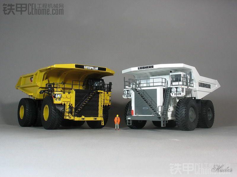 震撼!——三大顶级矿用卡车的零距离较量
