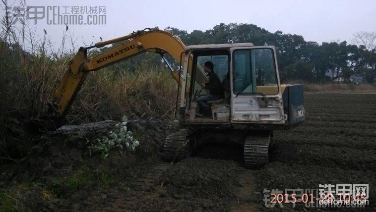 粵北山區 挖水渠-帖子圖片