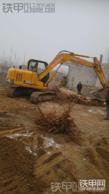 卡特重工 CT85-7B 二手挖掘机价格 21万 2000小时帖子图片